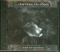 Damascus Steel Soul Excavation CD new rare private press US metal indie