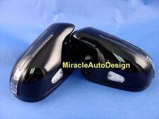2 ARROW LED BLACK (#197) DOOR MIRROR COVERS FOR 2005-2009 MERCEDES BENZ R171 SLK