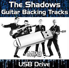 156 TRACKS THE SHADOWS & HANK MARVIN MP3 USB DRIVE - GUITAR BACKING TRACKS