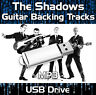 156 TRACKS THE SHADOWS & HANK MARVIN MP3 USB DRIVE - GUITAR BACKING TRACKS