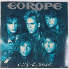 EUROPE: Out of this World EPIC USA vinyl lp STILL SEALED
