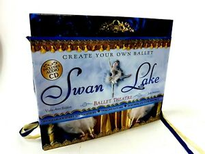 Swan Lake Ballerina Theater Color Create Beautiful 3D Scenes Ballet Colorscapes