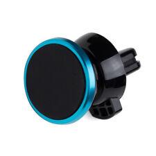 Blue Mobile Cell Phone Sedan Magnetic Air Vent Mount Bracket Cradle Holder Clip