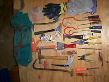Lot Of 52 Misc.Construction Tools With Tote Bag, Used