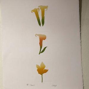 "Cecy Colichon – Etching - ""Trio I"" – 28/85"