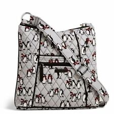 Vera Bradley Hipster Crossbody bag in Playful Penguins Grey