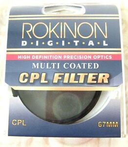 67mm Digital CPL Circular Polarizing Polar C-PL Multi-Coated Glass Lens Filter