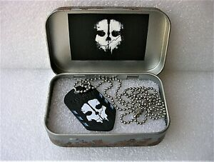 Call of Duty Endowment  Ghosts Dog Tag  Limited Edition  in Custom Case