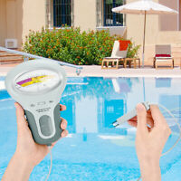 Water Quality PH/CL2 Chlorine Tester Level Meters Swimming Pool Spa Hot Tubs A++