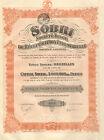 Societe Belge de Recuperation Industrielle SA,accion de dividendos,1925 (Mexico)