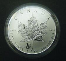 2016 Canada $5 1oz Chinese Lunar Monkey Privy Mark Silver Maple Leaf coin
