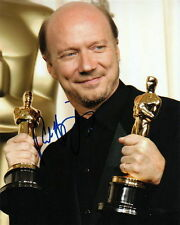 PAUL HAGGIS.. with His Academy Awards - SIGNED