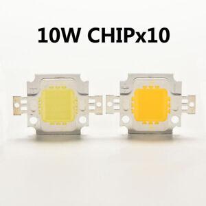10W Watt LED Chip, 29 * 20mm, 1050Lm, 6500K, COB, Floodlight,DIY 2pcs/10pcs