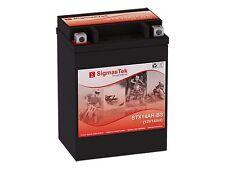 Stx14Ah-Bs Powersports Battery By SigmasTek