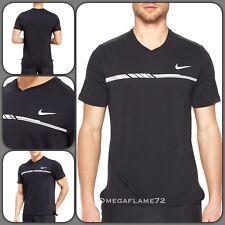 Nike Nikecourt Dry Court Challenger Premium Tennis Polo Shirt 830897-010 Sz XL