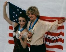 Meryl Davis USA Ice Dancer Olympian Signed 8x10 Autographed Photo COA