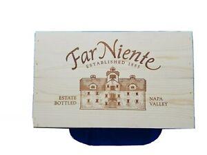2019 Far Niente Napa Valley Chardonnay Wood Wine Crate Case Empty 12 Bottle Box