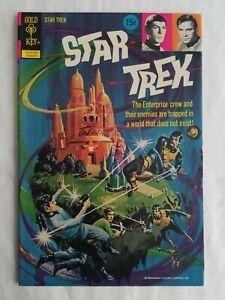 STAR TREK 15 GOLD KEY COMIC BOOK 1972 HIGH GRADE VF/NM PAINTED COVER KIRK SPOCK