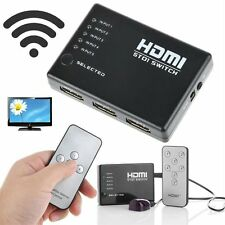 1080P Video HDMI Switch Switcher Splitter for HDTV PS3 DVD + IR Remote AK