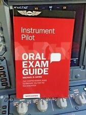 ORAL EXAM GUIDE for INSTRUMENT PILOT RATINGS p/n ASA-OEG-I9 (IFR Checkride)