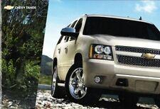 2008 08 Chevrolet Tahoe original sales brochure MINT