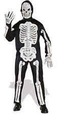 Deluxe Skeleton Halloween Horror Fancy Dress Costume