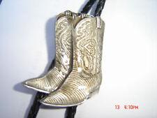 Bota De Cowboy Diseño Bolo Tie country y western.