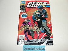 GI Joe #102 Comic Marvel 1990 Storm Shadow Snake Eyes Roadblock Flint Larry Hama