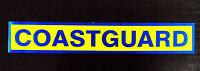 Coastguard Reflective / Fluorescent Self Adhesive Sticker Sign
