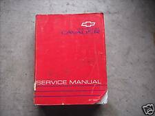 1993 Chevy Chevrolet CAVALIER Service Shop Repair Manual FACTORY OEM BOOK GM x
