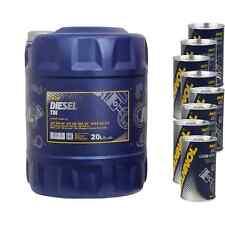 20l olio motore MANNOL Diesel TDI 5w-30 4x MANNOL LEAK-STOP ADDITIVO + Molibden