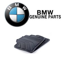 For BMW F30 320i 328d Sedan Set of 2 Rear Black All Weather Floor Mats Genuine