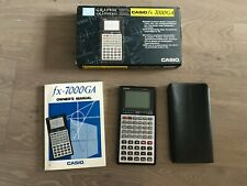 Casio fx-7000GA Graphics calculator in carry pouch boxed with user manual