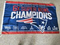 5 Syles New England Patriots SUPER BOWL Flag 52 LII Champions 2019 3X5 ft Banner