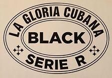 La Gloria Cubana Serie R Black cigar decal
