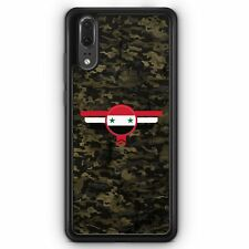 Huawei P20 SILIKON Hülle Syrien Syria Camouflage Motiv Design Militär Military