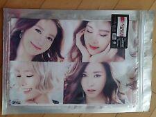 SNSD Girls Generation KPOP Photo Cheer Slogan Towel SM Yuri Tiffany Sunny