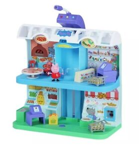 Peppa Pig Shopping Centre Playset Toy Figures & Accessories - Sound and Light