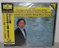 SHM-CD BIZET - CARMEN SUITE - MYUNG-WHUN CHUNG - JAPAN UCCG-50032