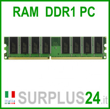 MEMORY RAM 1GB 3200U DDR1 400Mhz 184pin Memoria x DESKTOP PC3200 No Ecc