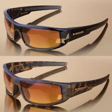 Sport Wrap Hd Night Driving Vision Sunglasses Orange High Definition Glasses