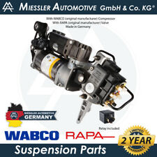 Audi Q7 (4L) 2007-15 NEW Air Suspension Compressor, Solenoid & Relay 4L0698007C