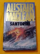Santorini by Alistair MacLean FREE AUS POST excellent used cond hardcover 1986