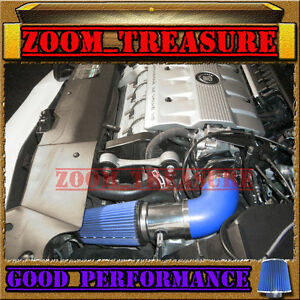 BLUE 2000-2002/00 01 02 CADILLAC ELDORADO ESC/ETC 4.6 4.6L V8 AIR INTAKE