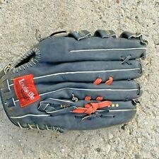 "Louisville slugger LPS5 14"" pro softballer glove black steerhide leather"