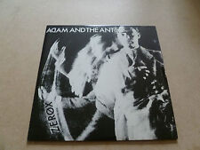 "Adam and the Ants, 7"" Zerox, Unplayed (1979) 1st Pressing."