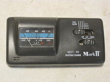 MGT-99 Mark II Guitar Tuner  instrument tuning 006P *missing battery  cover