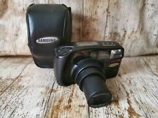 Samsung AF Zoom 1050 35mm Compact Film Camera with 38-105mm Zoom + Case Tested