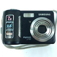 Samsung Digimax S700 Photo Camera 7.2 Mega Pixels, 2.5 Large LCD 4.A5