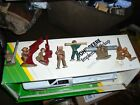 Lot of 7 Old Cast Iron Military Toy Soldiers Army Infantry